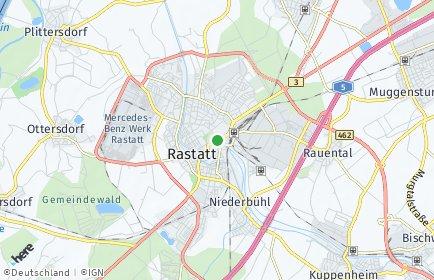 Stadtplan Rastatt