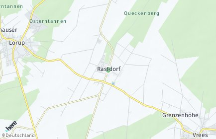 Stadtplan Rastdorf