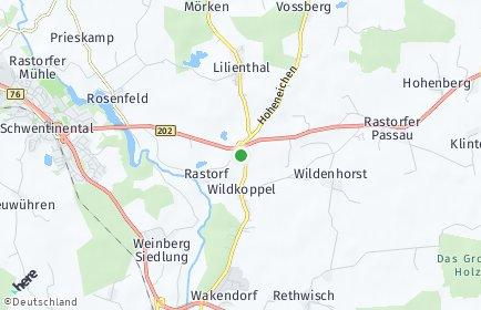 Stadtplan Rastorf