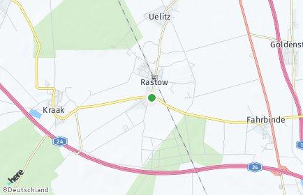Stadtplan Rastow