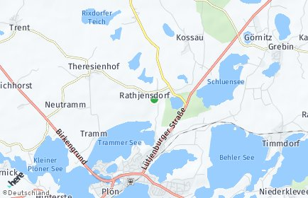 Stadtplan Rathjensdorf