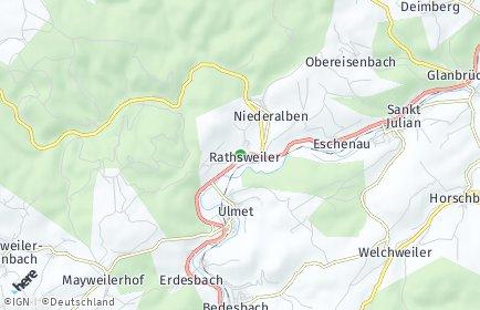 Stadtplan Rathsweiler