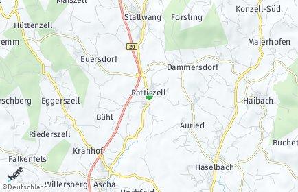 Stadtplan Rattiszell OT Neundling