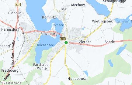 Stadtplan Ratzeburg