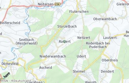 Stadtplan Ratzert