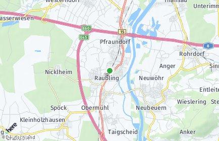 Stadtplan Raubling