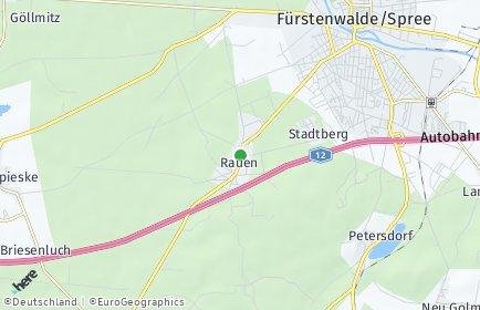 Stadtplan Rauen
