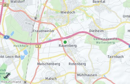 Stadtplan Rauenberg OT Malschenberg