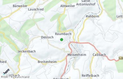Stadtplan Raumbach