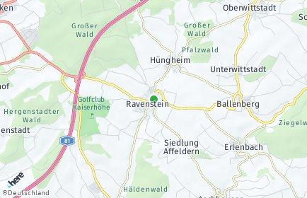 Stadtplan Ravenstein