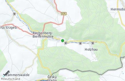 Stadtplan Rechenberg-Bienenmühle