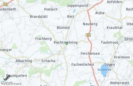 Stadtplan Rechtmehring OT Allmannsau