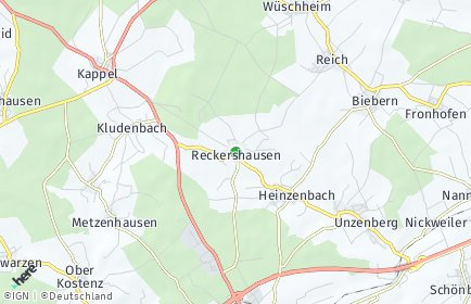 Stadtplan Reckershausen