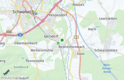 Stadtplan Rednitzhembach