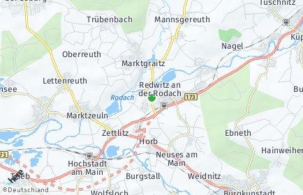 Stadtplan Redwitz an der Rodach OT Redwitz