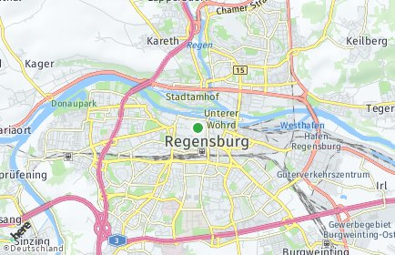 Stadtplan Regensburg