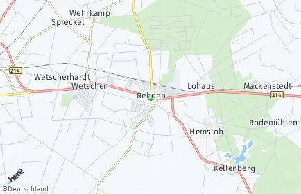Stadtplan Rehden