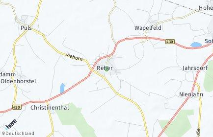 Stadtplan Reher