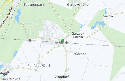 Stadtplan Rehfelde