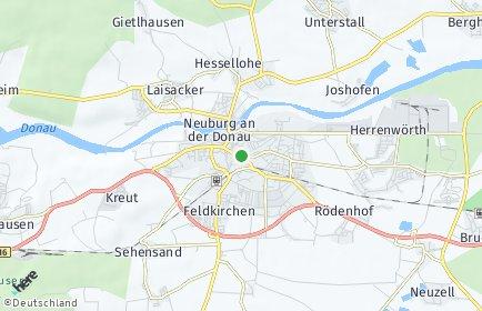 Stadtplan Neuburg-Schrobenhausen