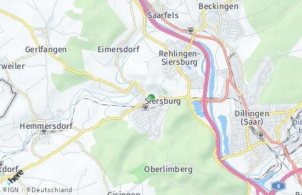 Stadtplan Rehlingen-Siersburg