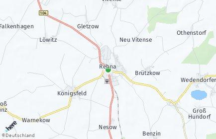 Stadtplan Rehna