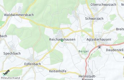 Stadtplan Reichartshausen