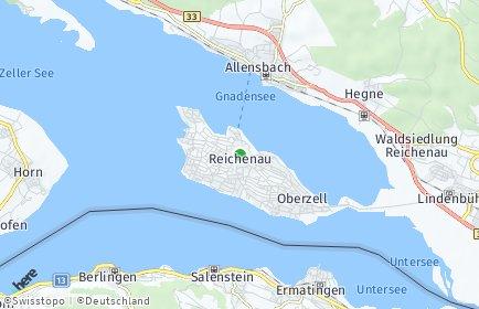 Stadtplan Reichenau