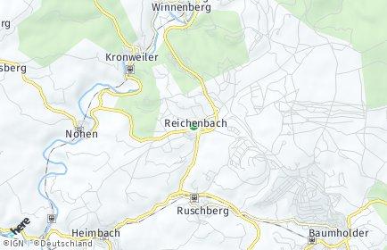 Stadtplan Reichenbach bei Baumholder