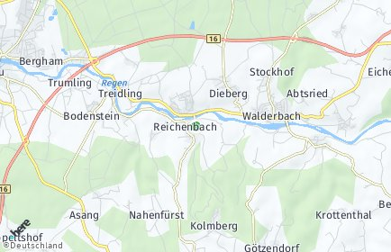 Stadtplan Reichenbach (Kreis Cham)