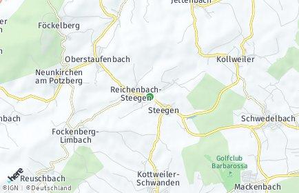Stadtplan Reichenbach-Steegen