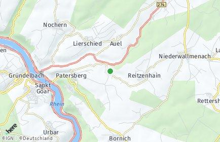Stadtplan Reichenberg (Rheinland-Pfalz)