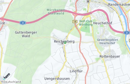 Stadtplan Reichenberg (Unterfranken)