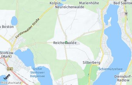 Stadtplan Reichenwalde