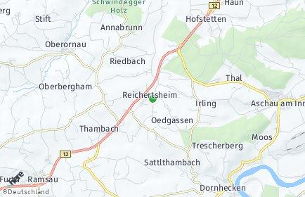 Stadtplan Reichertsheim