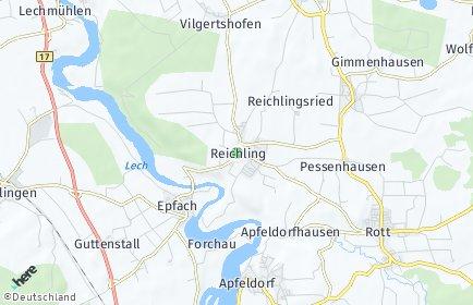 Stadtplan Reichling