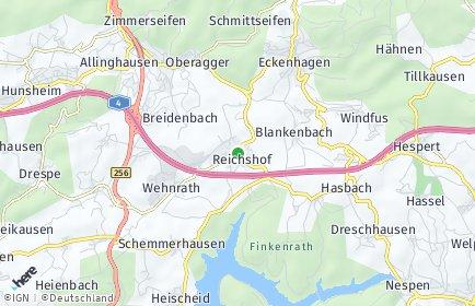Stadtplan Reichshof