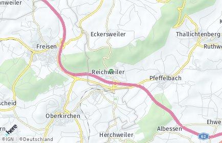 Stadtplan Reichweiler