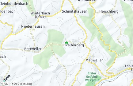 Stadtplan Reifenberg