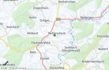 Stadtplan Reiferscheid