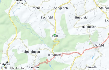 Stadtplan Reiff