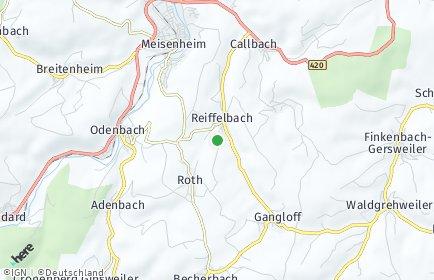 Stadtplan Reiffelbach