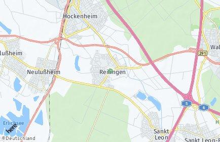 Stadtplan Reilingen