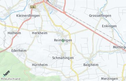 Stadtplan Reimlingen