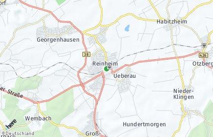 Stadtplan Reinheim