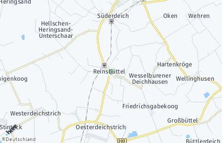 Stadtplan Reinsbüttel