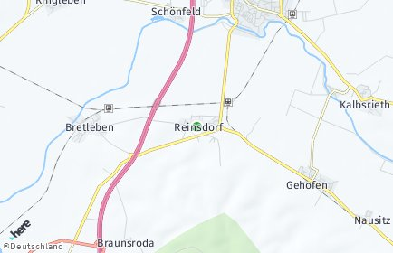 Stadtplan Reinsdorf (Thüringen)