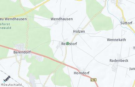 Stadtplan Reinstorf