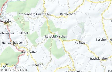 Stadtplan Reipoltskirchen