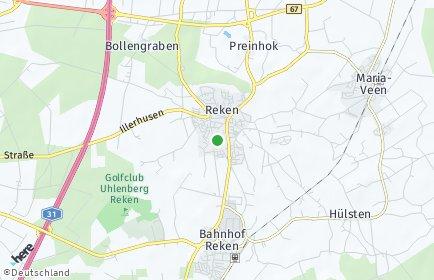 Stadtplan Reken